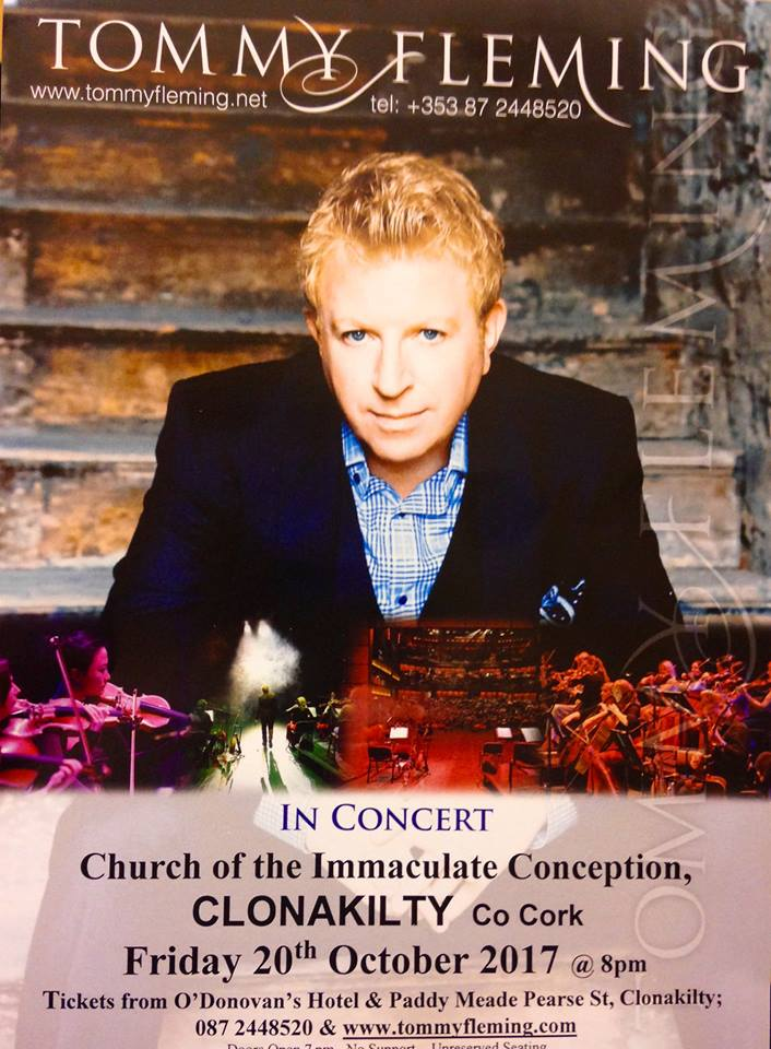 Tommy Fleming Concert @ Church of the Immaculate Conception